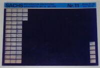 Microfiche Repair Manuals Sachs Saxonette 301/A 301 / Since Stand 01/88