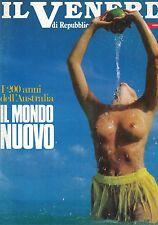 IL VENERDI DI REPUBBLICA - ANNO II - N.24 - IL MONDO NUOVO
