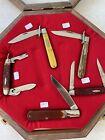 Vintage Robeson Pocket Knife lot with case