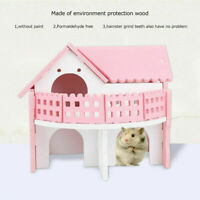 House Bed Cage For Small Animal Pet Hamster Hedgehog Guinea Pig Castle Toy