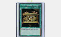 HISU-EN051 Gold Sarcophagus Secret Rare 1st Edition YuGiOh Card