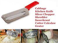 Kitchen Knife Slicer Cabbage Chopper Shredder Sauerkraut Cutter Coleslaw Grater.