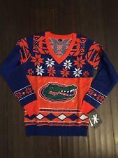 University of Florida Gators NEW Womens Small Ugly Sweater . NCAA Christmas NWT