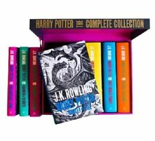Harry Potter Hardcover UK 'Bloomsbury of London' Edition Complete Series Box Set
