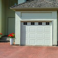 Garage Door Window Panes Decorative Magnetic 1 Car Garage Black Home Decor Pane