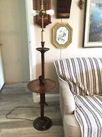 Antique Knob Creek of Morgantown Rachet Floor Lamp