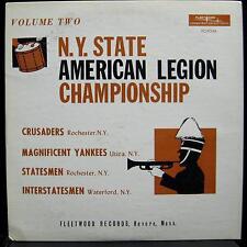 N.Y. State American Legion - Championship Vol. Two LP VG+ FCLP 2143 Vinyl 1965