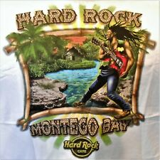 HARD ROCK CAFE MONTEGO BAY CITY TEE T-SHIRT SIZE ADULT XX-LARGE - NEW WITH TAGS