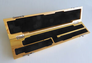 Wooden Flute Case for B-foot Flute - Solid Oak - BEAUTIFULLY FINISHED