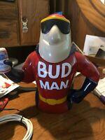 BUDWEISER BUD MAN 30TH ANNIVERSARY STEIN  9 7/8 TALL 1969-1990