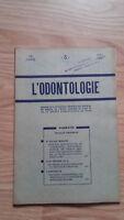 Rivista Mensile - ODONTOLOGIA - 73ème Anno - Mai 1952, N° 5