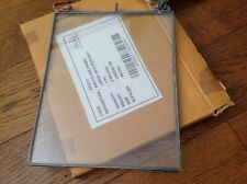 "Nkuku Kiko Glass Picture Frame - Medium 8""x10"" Portrait - Zinc"