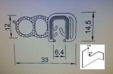 10m 4-5mm ROSTET NiCHT Kofferraumdichtung , Kantenschutz  Dichtungsprofil Profil