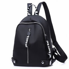 Fashion Women  Black Shoulder School Backpack Travel Bag Nylon Rucksack Handbag