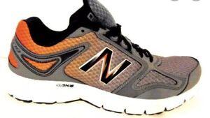 New  Balance Men's Grey/Orange  M579BR1 Running Shoes Size 8.5