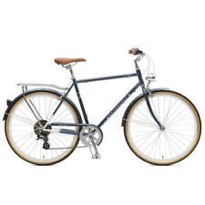 Retrospec Mars 700c Bike Blue 7 Speed Complete Hybrid Bicycle