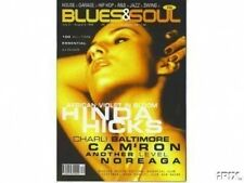 Hinda Hicks on Blues & Soul Magazine Cover 1998  Charli Baltimore  Another Level