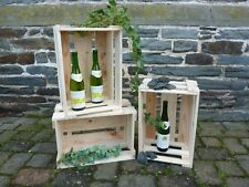 Top Angebot ! 9 Stück Neue Weinkisten, Weinsteigen,Weinregal, Weinkiste, Kiste,