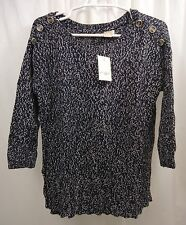 Women's Lucky Brand Marled  Sweater Medium  NWT