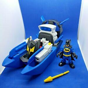 Imaginext Batman & Hovercraft Bat Boat Dc Super Friends Fisher-Price