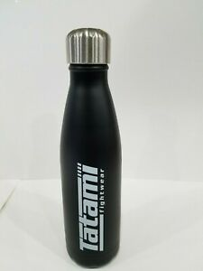 New Tatami 500ml Chilled Water Flask Gym Training Sports Water Bottle - Black