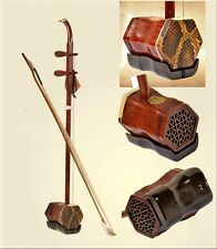 DunHuang Brand Aged rosewood ERHU instrument Chinese fiddle two-stringed #3738