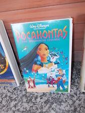 Pocahontas, eine Indianische Legende,ein Walt Disneyfilm,eine VHS Video Cassette
