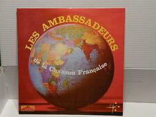 LES AMBASSADEURS de la chanson francaise : A la Bastille... LP 30155