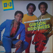 GIBSON BROTHERS 16 CHANSONS,16 SUCCES 13+3 FRENCH LP