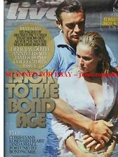 JAMES BOND 50TH ANNIVERSARY COLLECTOR'S ISSUE UNSEEN CANDID PHOTOS Live Mag