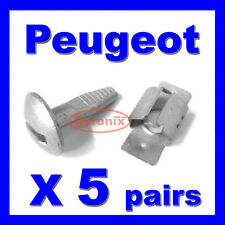 PEUGEOT 206 207 406 407 806 807 ENGINE UNDERTRAY CLIPS BOLTS UNDER COVER FITTING