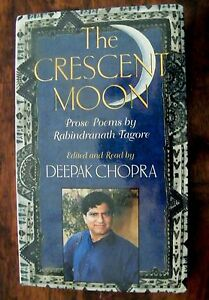 THE CRESCENT MOON - PROSE POEMS BY TAGORE - AUDIOCASSETTE READ BY DEEPAK CHOPRA