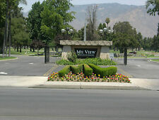Two Crypt Burial Plot For Sale in San Bernardino, CA