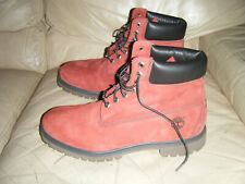 "Vintage Timberland 6"" Dark Red Boots City Year 15006 5440 Mens Size 13"