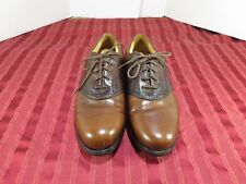 Nike Waverly Last Soft Spikes Golf Shoes  Brown Leather  Men Size 9.5