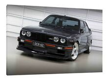 BMW M3 E30 - 30x20 Inch Canvas - Framed Picture Classic Print Wall Art Poster