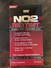 NO2 Test Red by MRI -90 tab, Testosterone boost, Muscle growth, Fat burn, SALE