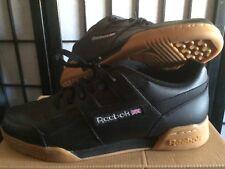 Reebok Classic Workout US 10 EUR 43 Black/Carbon Basket with Box