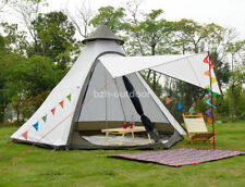 Outdoor 4 Person Fast Build Indian Tent Anti Hard Rain Wind Proof Pyramid Teepee