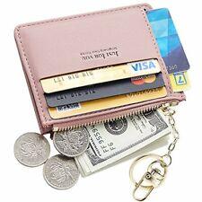 Cyanb Slim Leather Credit Card Case Holder Front Pocket Wallet Change Purse f...