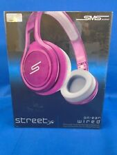 SMS Audio STREET by 50 Cent On-Ear Headphones - Electic Pink WIRED