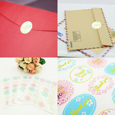 """120X """"Thank You"""" Seal Stickers Adhesive Envelope Candy Gift Bag Box Label Decal"""