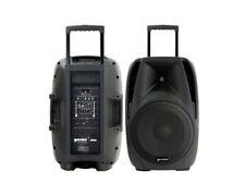 Gemini ES 15 TO GO diffusore portatile trolley bluetooth + 2 radiomicrofoni NEW