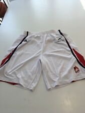 Game Worn Used UIC Flames Illinois Chicago Basketball Shorts Adidas Size Medium