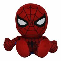 "Marvel Spiderman 8"" Kuricha Sitting Plush - Soft Chibi Inspired Toy"