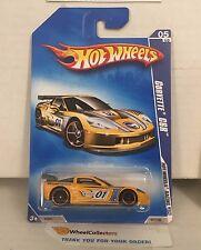 Corvette C6R #71 * Yellow * 2009 Hot Wheels * A3