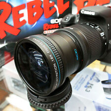 0.18x Ultra Fisheye Macro Lens For Canon EOS T6i T6s T5i T5 T3i T3 60D 70D SL1