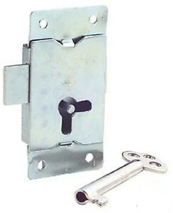 5 x Wardrobe Locks With 5 Keys, One Box.-LQQK!-Free Postage!