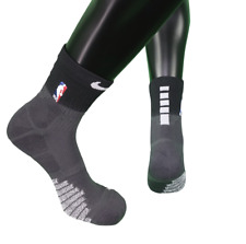 New Nike 2XL NBA Team Issued Detroit Pistons City Edition Over Ankle Socks Black