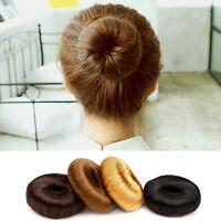 Women Hairpiece Hair Styling Tool Bun Maker Ring Donut Shaper Hair Styler HOT